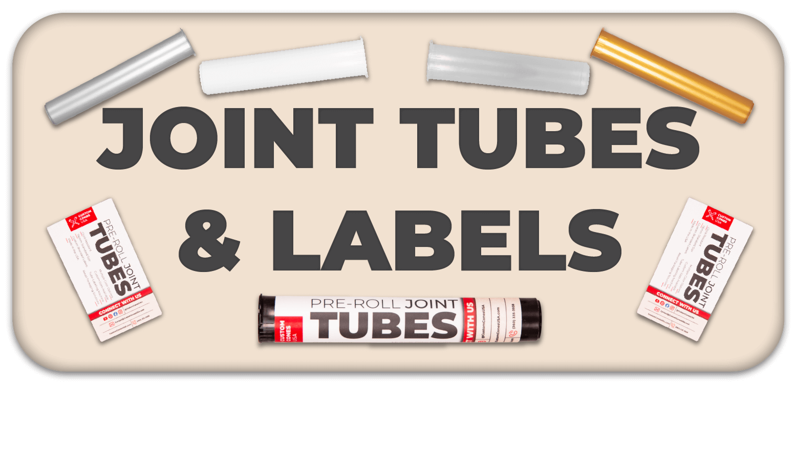 Joint Tube Button