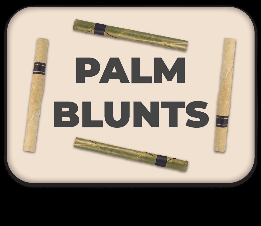 Palm Leaf Blunt Button