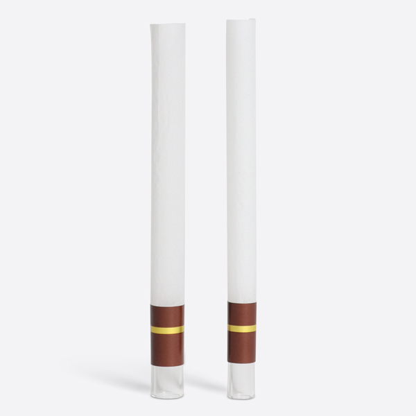glass-tipped paper tubes