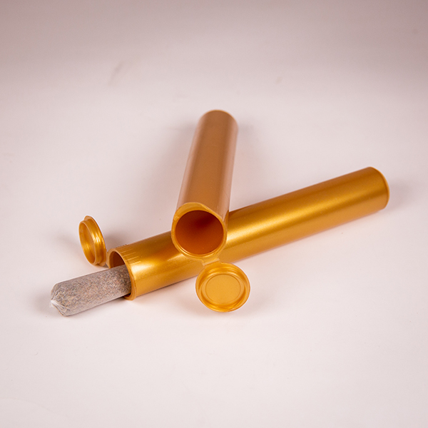 116mm gold joint tube with joint laying down