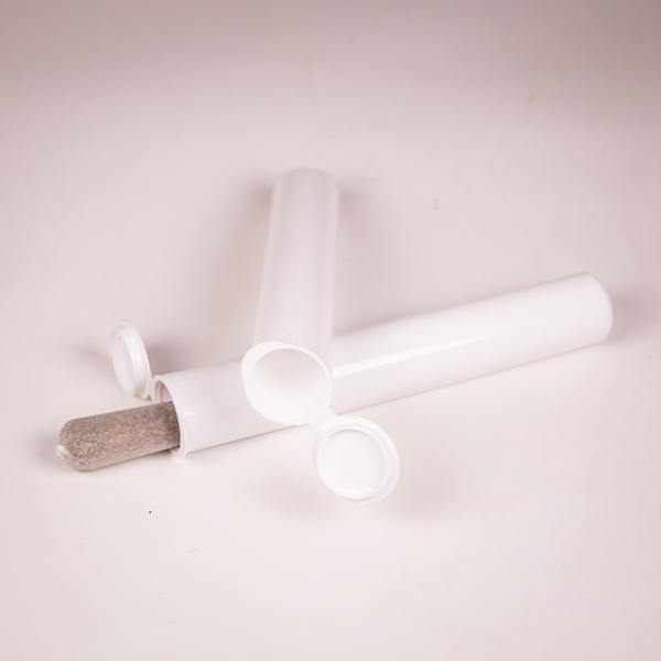 116mm clear joint tube with joint laying down