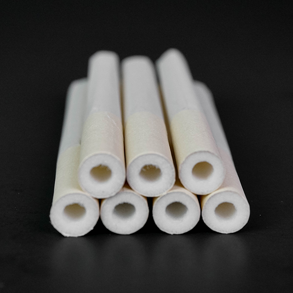 hollow tipped cigarette tubes