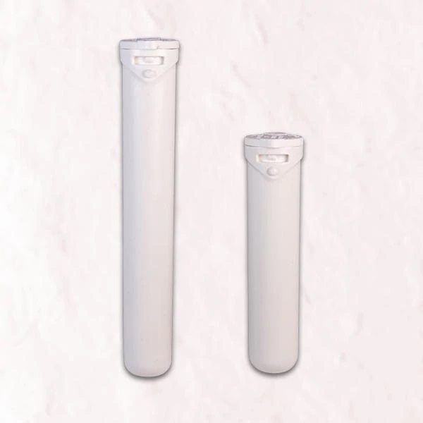 Two sizes of the Recycled Ocean Plastic Tube