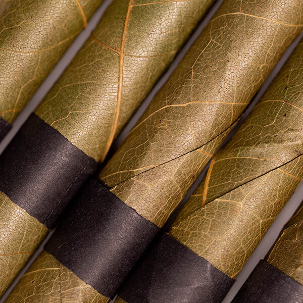 pre-rolled plam leaf blunt tube