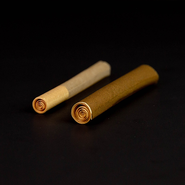 spiral tipped pre rolled tubes
