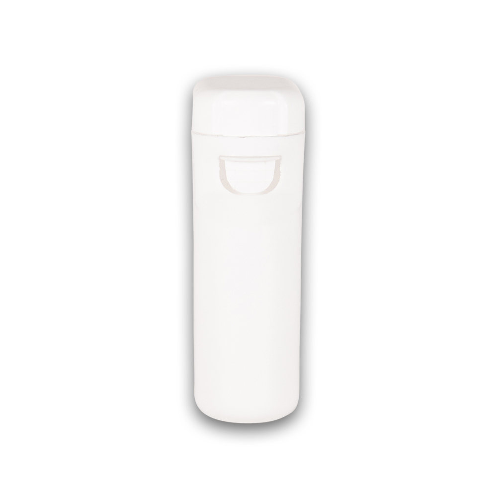 white closed child resistant pre-roll packaging