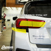 Tail Light Smoke Tint Overlay Kit (FULL STEALTH) | 2018-2021 Subaru Crosstrek / 2018-2021 Impreza Hatchback