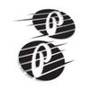 "5"" Premium Fast Logo Decal Set"
