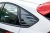 Distressed Flag Quarter Window Decal (2013-2019 Focus ST)