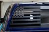 American Flag Rear Driver Window Decal (2016-2019 TITAN XD)