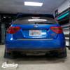 Tail Light Tint Overlays w/ Custom Cutouts (Option I) | 2008-2014 Subaru WRX & STI Hatchback