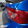 Tail Light Tint Overlays w/ Custom Cutouts (Option N) | 2008-2014 Subaru WRX & STI Hatchback