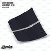 The Butcher Hood Stripe Kit v1 Vinyl Overlay - Multiple Colors Available | Chevy Silverado 2018