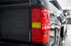 Taillight Reverse Light Smoke Tint Overlay | Chevy Silverado 2018