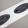Front & Rear Emblem Vinyl Overlay | 2013+ Ford Fiesta ST