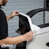 Wing End Plate with Type R Logo Cut out - Gloss Black   2016-2018 Honda Civic Type R