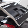Wing End Plate Vinyl Overlay - Gloss Black | 2016-2018 Honda Civic Type R