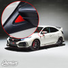 Mirror Accent Insert Vinyl Overlay - Multiple Colors Available | 2016-2018 Honda Civic Type R
