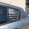 Distressed Flag Rear Quarter Window | 2014-2016 Kia Forte Hatchback