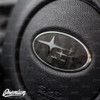 Shadow Black Front and Rear Emblem Overlays (Choose Your Color Stars) | 2015-2020 Subaru WRX / STI