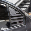 American Flag Rear Quarter Window Decal Set | 2015 BMW F30