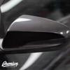 Mirror Accent Vinyl Overlays - Satin Black    Hyundai Veloster 2018-2019