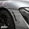 Front Side Marker Reflector Vinyl Overlays - Smoked Tint | 2020 Toyota Supra