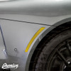 Smoked Rear Side Marker Reflector Overlays - Smoke Tint | 2020-2021 Toyota Supra