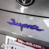 Rear Supra Badge Emblem Overlay (Choose Your Color) | 2020 Toyota Supra