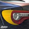 Sad Boi Custom Broken Heart Cut-Out - Tail Light Deck Vinyl Overlay - Gloss Black | 2017-2020 Subaru BRZ & 2017-2020 Toyota GT86