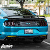 Smoked Rear Bumper Reflector Overlay - Smoke Tint | 2018-2019 Ford Mustang  GT