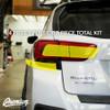 Tail Light Smoke Honeycomb Tint Overlay Kit (FULL STEALTH)  | 2018-2021 Subaru Crosstrek / 2018-2021 Impreza Hatchback