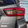 Tail Light  Tint Overlay Kit - Smoke Bio Hex   2018-2021 Subaru Crosstrek / 2018-2021 Impreza Hatchback