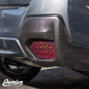 Smoked Bio Hex Rear Reflector Overlays | 2018-2021 Crosstrek