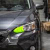High Beam Overlay - Yellow Tint | 2018-2021 Subaru Crosstrek