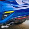 Smoked Rear Blinker Light Overlays | Kia Forte 2020-2021