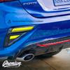 Smoked Reverse & Blinker Light Overlays Combo| Kia Forte 2020-2021