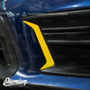 Front Bumper Accent Vinyl Overlays ( Choose Your Color ) | 2018-2021 Subaru WRX / STI