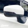 Mirror Turn Signal Tint Overlay - Smoked | 2018-2021 Subaru Crosstrek