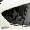 Mtn. Range Rear Quarter Window Decal | 2018-2021 Subaru Crosstrek