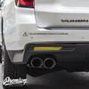 Smoked Rear Bumper Reflector Overlay| 2021 GMC Yukon Denali