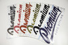Premium Auto Styling Logo Decal | 14 inch (Choose Your Color)
