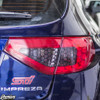 2008-2014 Subaru WRX & STI Hatchback Red Tail Light Tint Overlays with Cut Outs + Smoke Honeycomb Inserts