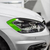 Headlight Amber Delete Vinyl Overlay - Smoke Tint | 2018-2021 VW GTI (with LED Headlights)