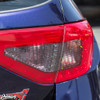 2008-2014 Subaru WRX & STI Hatchback Red Tail Light Tint Overlays with Cut Outs + BIO HEX Inserts