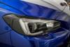 Headlight Amber Delete With Eyelid Vinyl Overlay - Gloss Black | Subaru WRX/STI 2015-2017