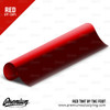 Red Tint - Bulk Tint Film 13.5-inch wide x 1-15ft. ( Perfect for tinting Tail Lights, Fog Lights, Reflectors, etc. )