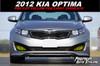 Pre-Cut Fog Light Vinyl Overlays (2011-2013 Kia Optima)