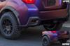 Crosstrek XV / Impreza Rear Bumper Reflector Smoke Out Overlays (2015-2017)