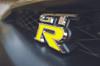 Gloss Yellow  Nissan GTR Emblem Overlay
